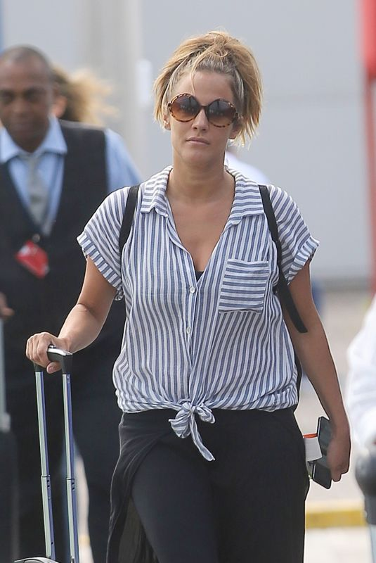 Caroline Flack Transferring through London