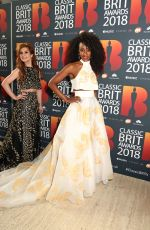 Cassidy Janson At Classic BRIT Awards 2018