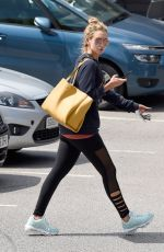 Catherine Tyldesley Spotted out for lunch in alderney Edge Cheshire