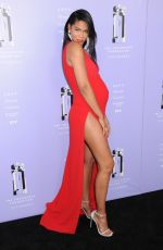 Chanel Iman At 2018 Fragrance Foundation Awards, Alice Tully Hall, New York