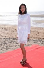 Charline Bourgeois-Tacquet At Photocall during Day 3 of the 32nd Cabourg Film Festival in Cabourg, France
