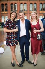 Charlotte Wiggins At The Victoria and Albert Museum Summer Party, London, UK
