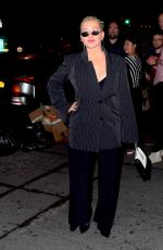 Christina Aguilera Out for a date night in New York City