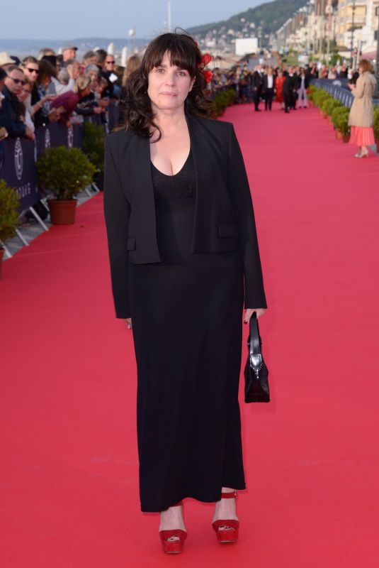 Christine Citti At Photocall during Day 3 of the 32nd Cabourg Film Festival in Cabourg, France