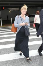 Claire Danes At LAX airport