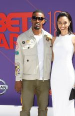 Corinne Foxx At 2018 BET Awards, Los Angeles