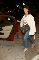 Courteney Cox Grabs an Uber ride following a night out with friends in West Hollywood