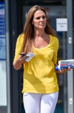 Danielle Lloyd Seen Out With Pregnancy Test Kit in Birmingham
