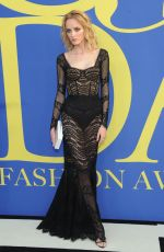 Daria Strokous At CFDA Fashion Awards, New York