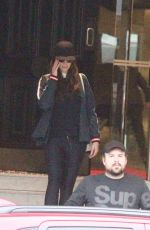 Delta Goodrem Checks out a new apartment with her mother and talent agent Joe Dadic in Sydney