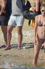 Doutzen Kroes In bikini as she holidays in Ibiza