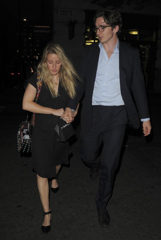 Ellie Goulding Out and About in Mayfair
