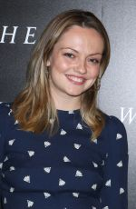 Emily Meade At New York Special Screening of Woman Walks Ahead, Whitby Hotel, New York