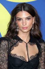 Emily Ratajkowski Attends the 2018 CFDA Fashion Awards at Brooklyn Museum in New York City
