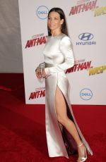 Evangeline Lilly At Ant-Man and The Wasp Film Premiere in Hollywood