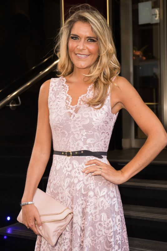Gemma Oaten At A Right Royal Fundraising Party at DoubleTree by Hilton Hotel in London