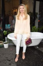 Georgia Toffolo Attending the Skinny Dip event in Shoreditch, London, UK