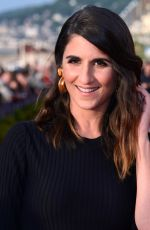 Geraldine Nakache At Photocall during Day 3 of the 32nd Cabourg Film Festival in Cabourg, France