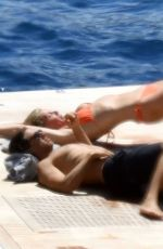 Gwyneth Paltrow With fiance Brad Falchuk on holiday in Capri