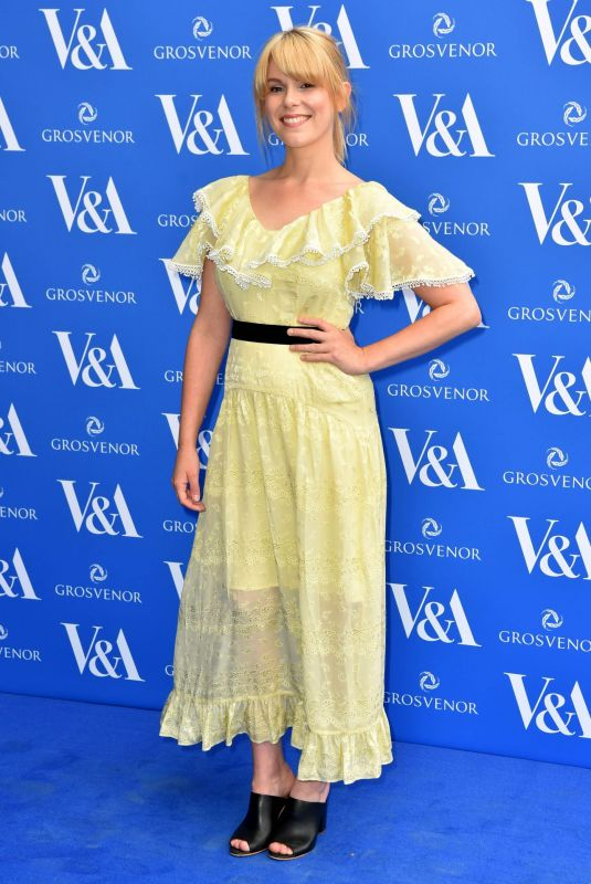 Hannah Arterton At The Victoria and Albert Museum Summer Party in London