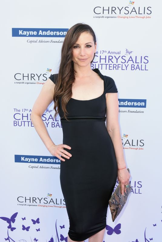 Heather McComb At 17th Annual Chrysalis Butterfly Ball, Los Angeles