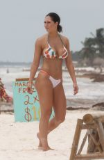 Hope Beel At vacations with friends in Tulum, Mexico