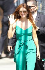 Isla Fisher At the El Capitan Theatre in Hollywood for an appearance on Jimmy Kimmel Live, Hollywood