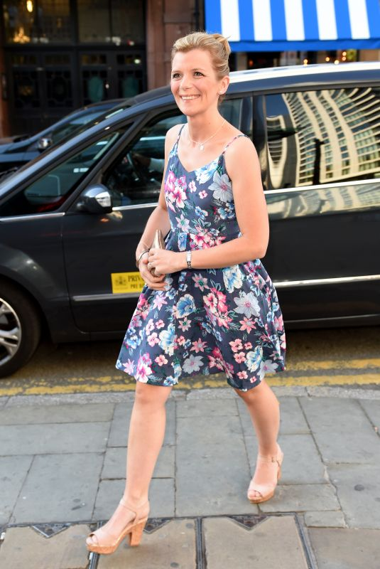 Jane Danson At Catherine Tyldesley leaving party. Impossible bar, Manchester, UK