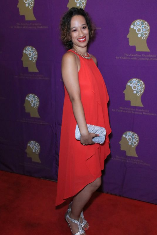 Jennifer Thompson At The Jonathan Foundation Fundraiser in Los Angeles