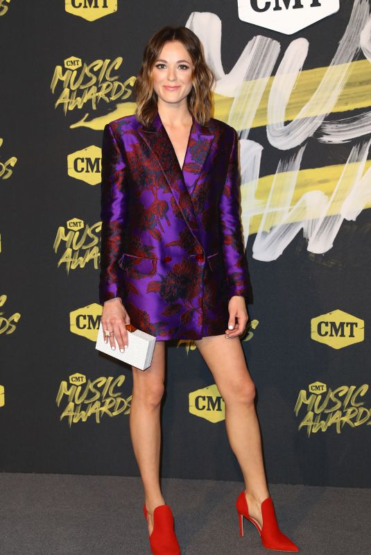Jillian Jacqueline At 2018 CMT Music Awards Love from the Bridgestone Arena in Nashville