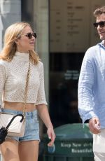 Joshua Jackson Was spotted with new flame Alyssa Julya Smith in New York City