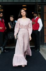 Kelsey Asbille Chow Spotted leaving her hotel in downtown New York City