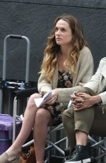 Kerry Condon Filiming Women On The Verge Film Set In Dublin
