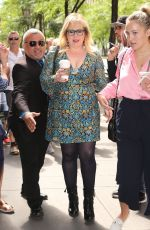 Kirsten Vangsness Seen walking into the NBC Studios in New York