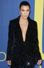 Kourtney Kardashian Attends the 2018 CFDA Fashion Awards at Brooklyn Museum in New York City
