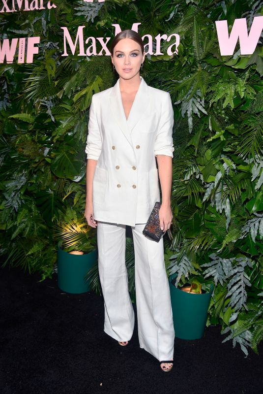Ksenija Lukich At MaxMara WIF Face of the Future, Los Angeles
