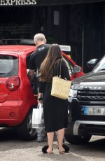 Lacey Turner Spotted out with a friend in London