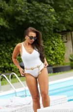 Lauren Goodger Showing off all her assets while on set for the So Monroe photoshoot in Essex, England