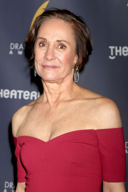 Laurie Metcalf At 2018 Drama Desk Awards held at Town Hall, New York
