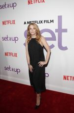 Lea Thompson At The New York Special Screening of the Netflix Film, SET IT UP Held at AMC Loews Lincoln Square