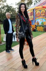 Liberty Ross At Moschino show, Spring Summer 2019 Menswear and Women