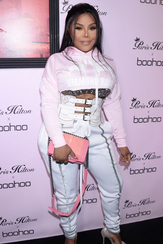 Lil Kim At Paris Hilton x boohoo Official Launch Party in West Hollywood
