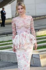 Lili Reinhart Arriving at the CFDA Fashion Awards, at Brooklyn Museum NYC