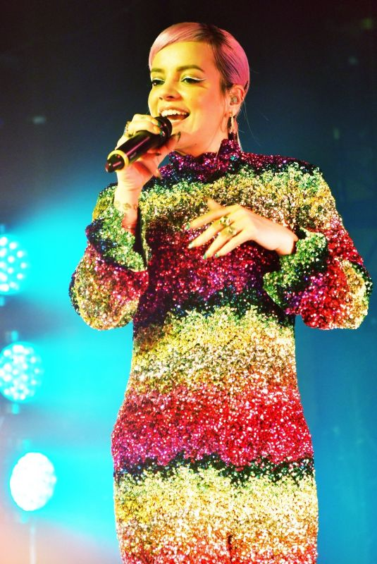 Lily Allen Launches her new album
