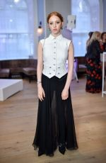Lily Newmark At The ELLE List 2018 with Theoutnet.com, Spring Restaurant, Somerset House, London, UK