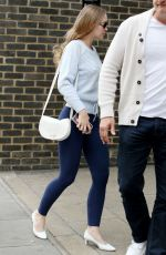 Lily-Rose Depp Arriving at a Studio, London