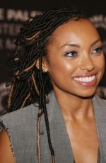 Logan Browning At An Evening With Dear White People at The Paley Center for Media, Los Angeles