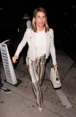 Lori Loughlin Wears a unique style trousers as she goes to Craig