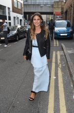 Louise Thompson Attending the Skinny Dip event in Shoreditch, London, UK