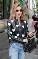Lucy Hale Out and about in Paris